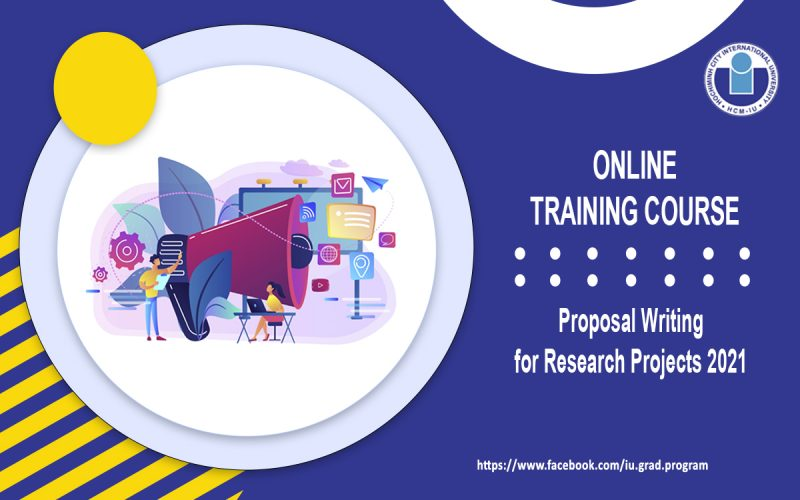 """Online Training Course: """"Proposal Writing for Research Projects 2021: Practice-oriented Training for Young Researchers"""""""